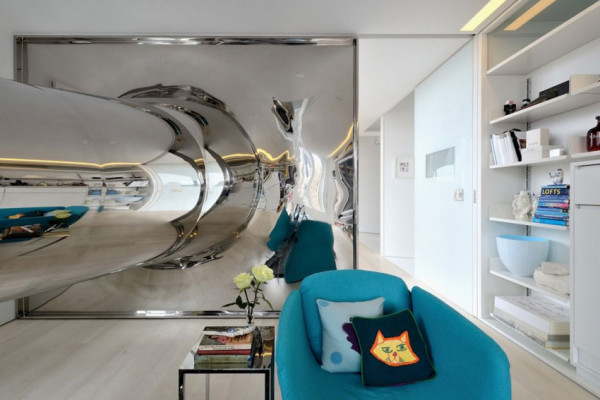 New York City Penthouse by David Hotson and Ghislaine Vinas | Yellowtrace