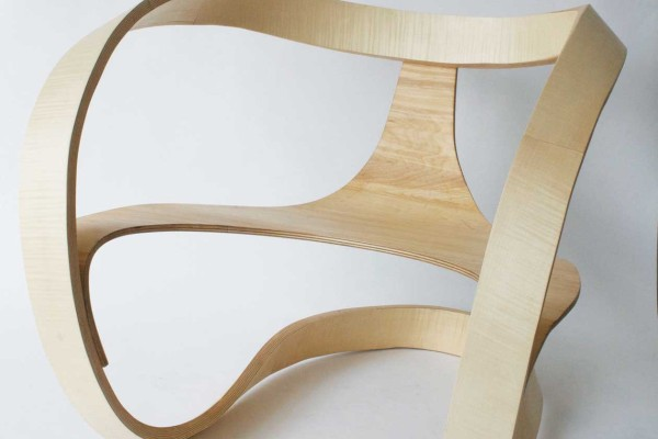 Object Future Exhibition by Dale Hardiman // Mobius Chair by Adam Raphael Markowitz | Yellowtrace