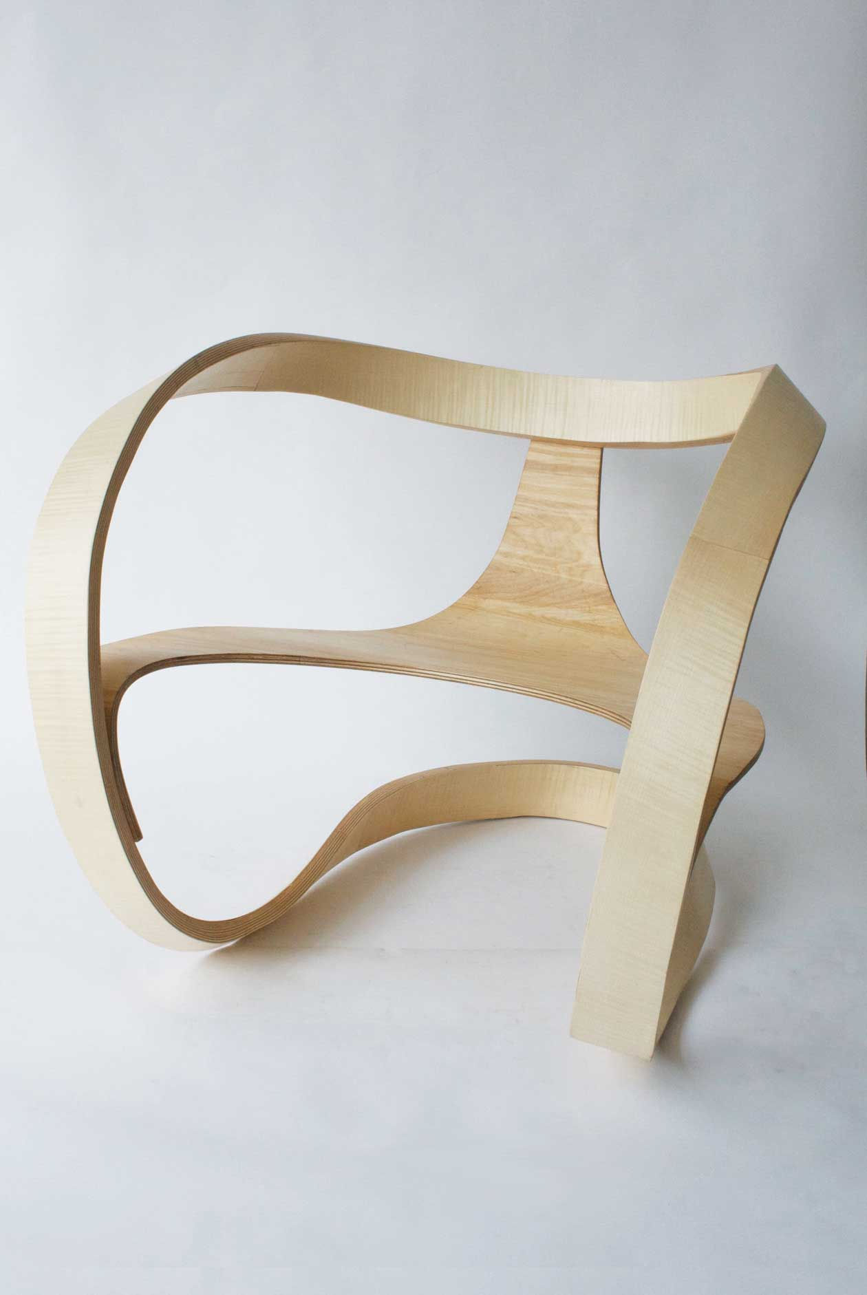 Object Future Australian Design Exhibition //  Mobius Chair by Adam Raphael Markowitz | Yellowtrace