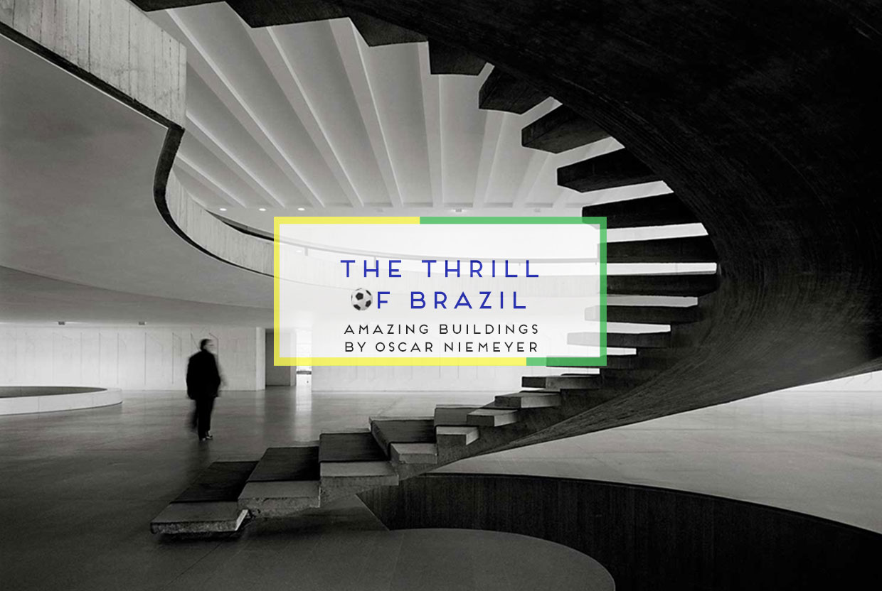 Amazing Architecture by Oscar Niemeyer | Yellowtrace