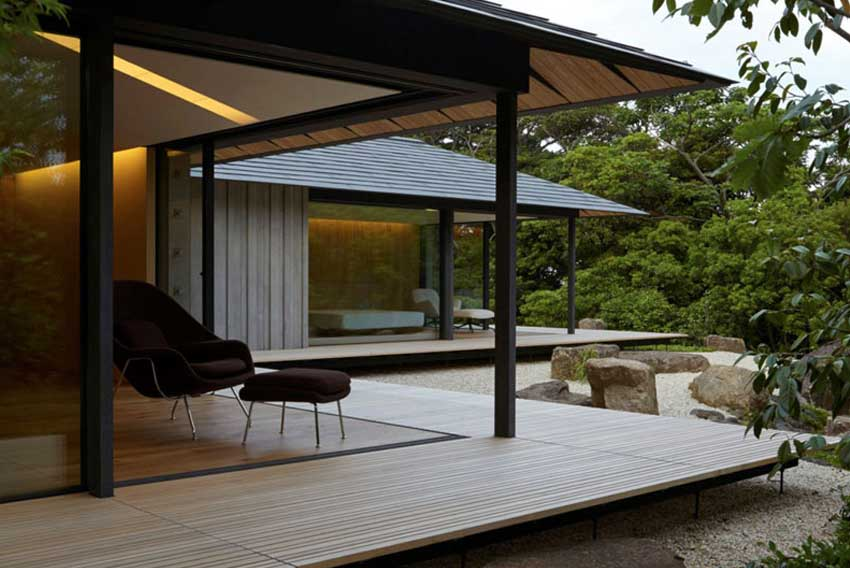 PC Garden House in Japan by Kengo Kuma | Yellowtrace
