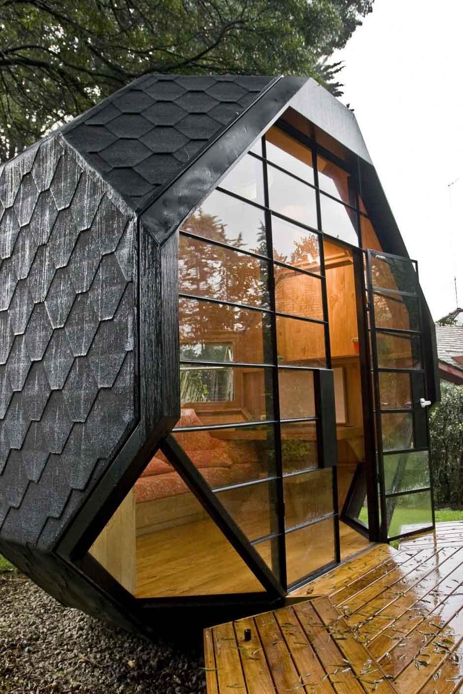 Polyhedron Pod by Manuel Villa | Yellowtrace