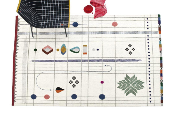 Rabari Rug Collection by Doshi Levien for Nanimarquina | Yellowtrace