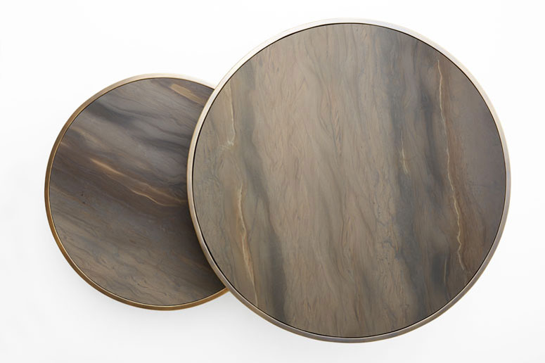 Round Side Table by Kiko Salomao Architecture | Yellowtrace