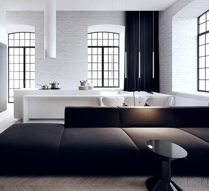 Kitchen Set Minimalist: Tamizo Architects.