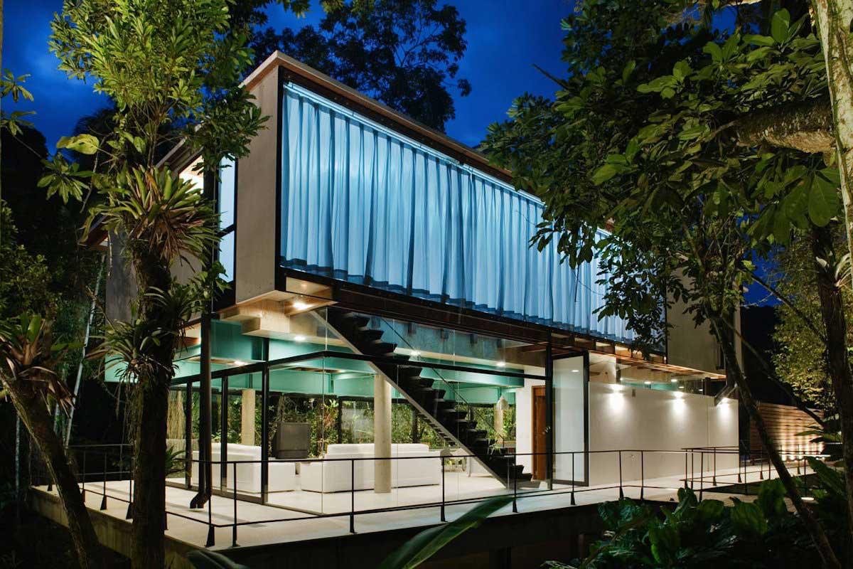 The Iporanga House by Nitsche Arquitetos Associados | Yellowtrace