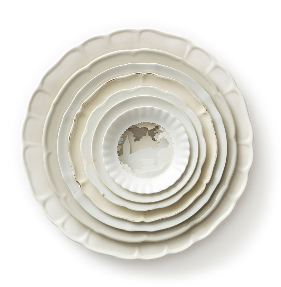 Timber & Ceramic Sculptures by Caroline Slotte   Yellowtrace