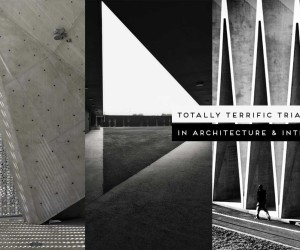Totally Terrific Triangles in Architecure & Interiors, Curated by Yellowtrace