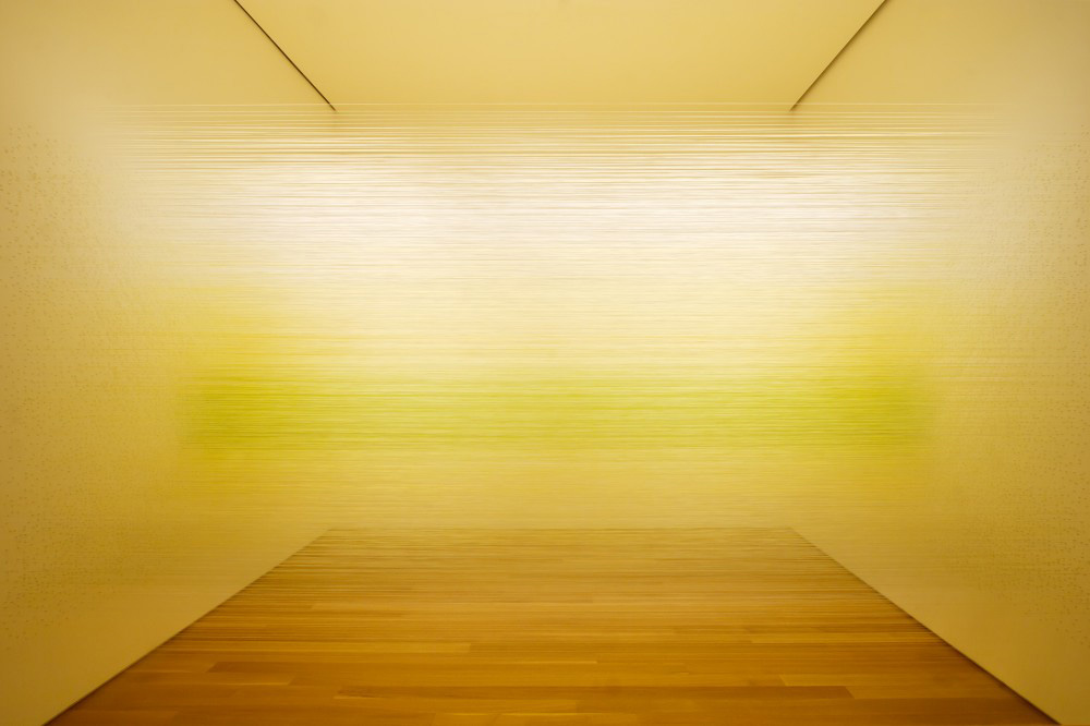 Transforming Space with Thread by Anne Lindberg | Yellowtrace