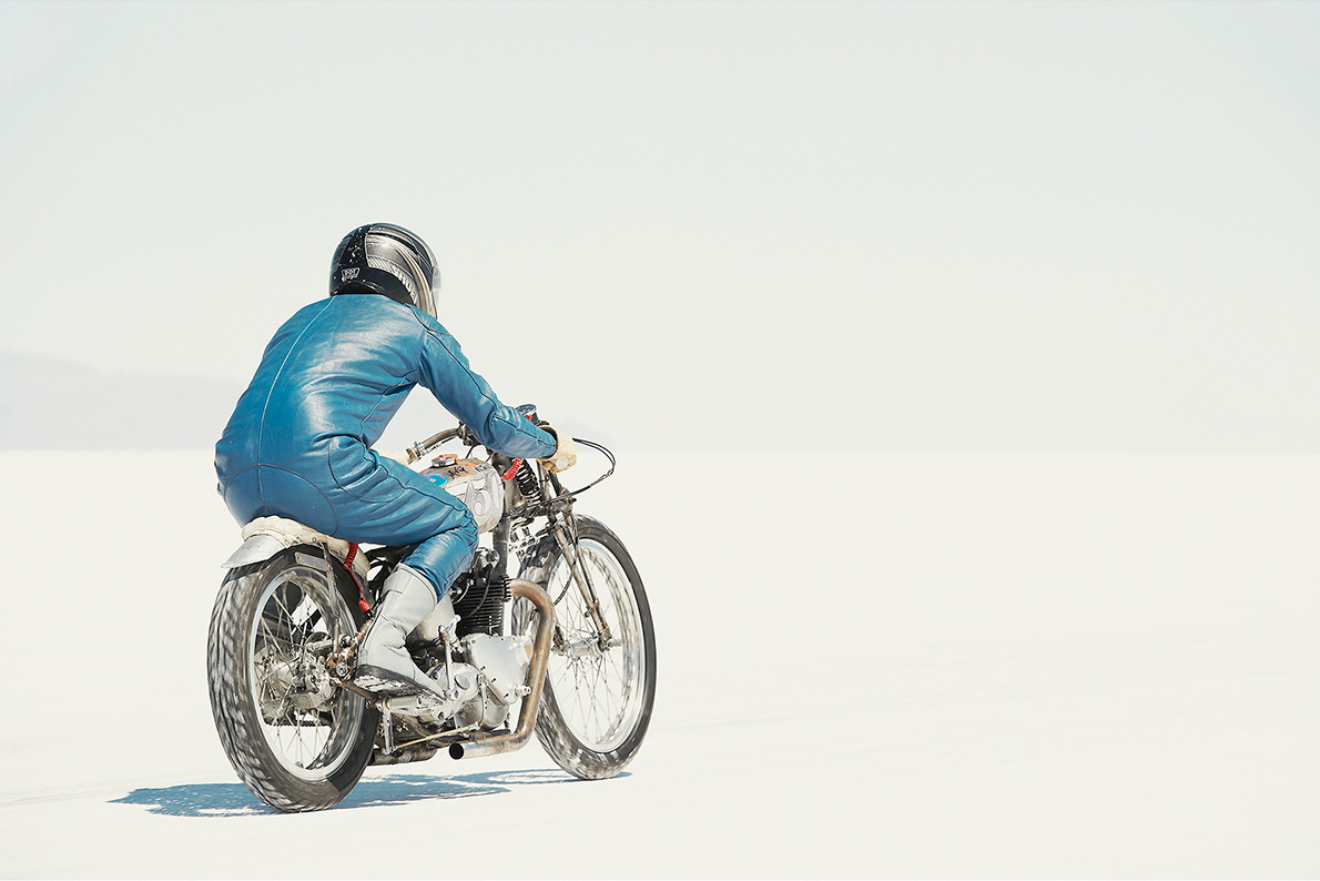 Triumph Nick, Rolling Bones, Photography by Simon Davidson | Yellowtrace