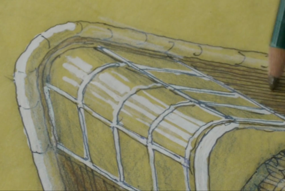 Luigi Rosselli Sketching On Yellowtrace Tv