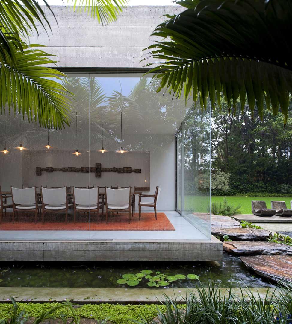 Yucatan House by Isay Weinfeld | Yellowtrace