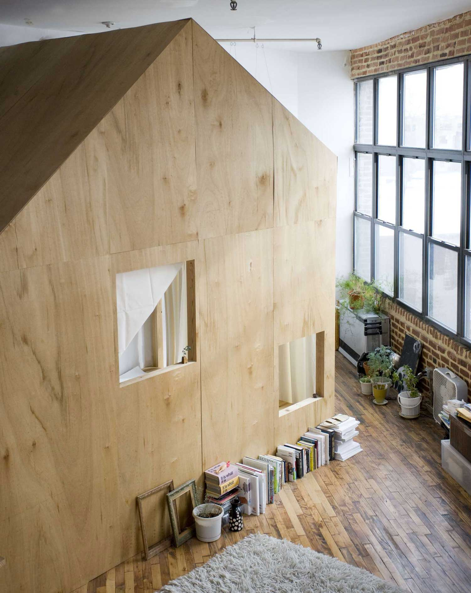 A Cabin in a Loft by Terri Chiao & Adam Frezzo | Yellowtrace