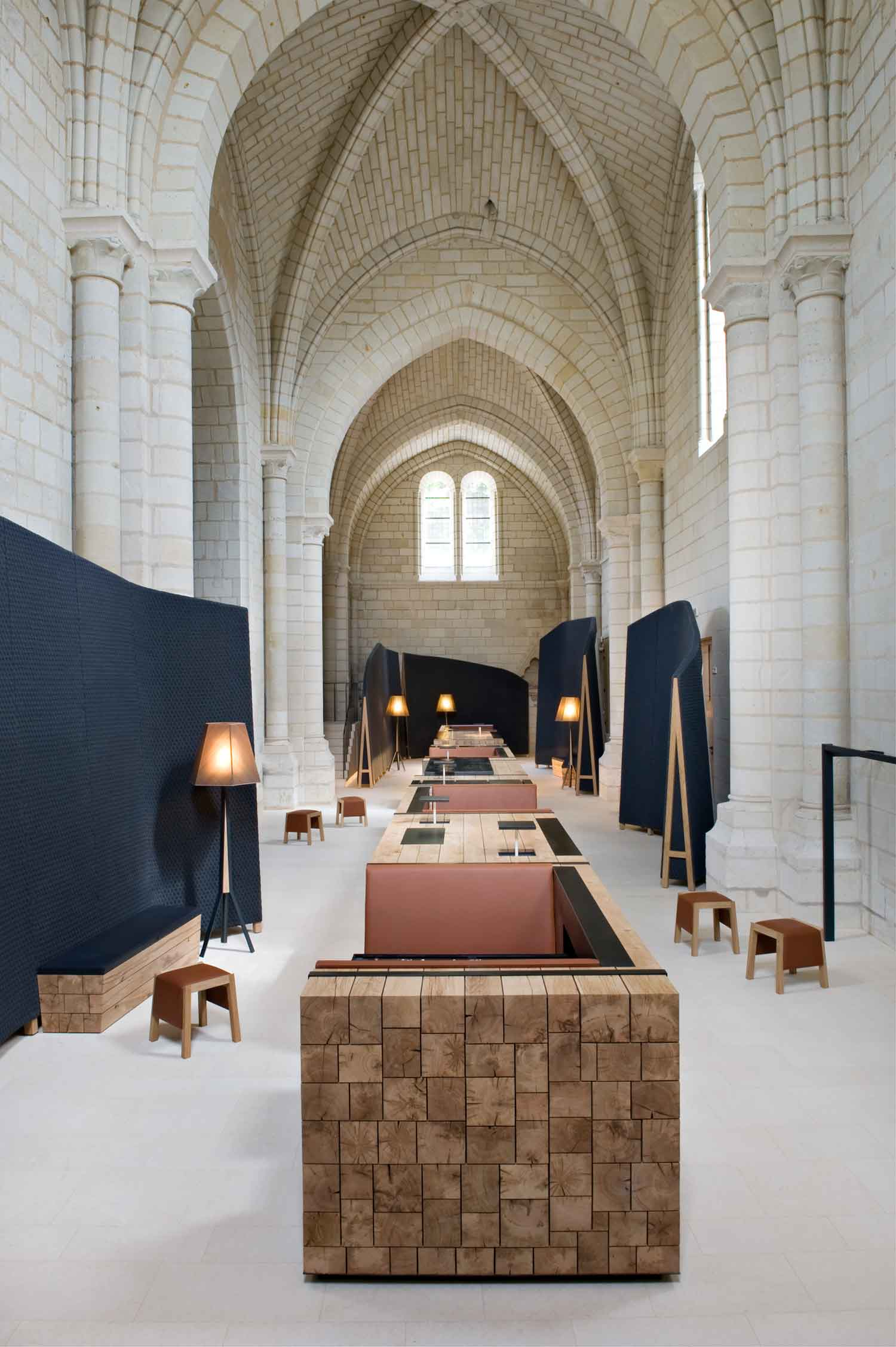 Abbaye de Fontevraud by Jouin Manku in Anjou, France | Yellowtrace