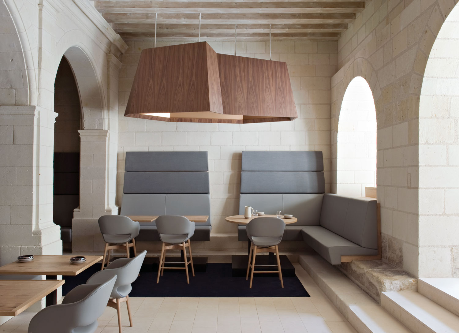 Abbaye de fontevraud by patrick jouin yellowtrace for Hotel design france