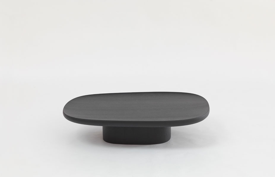 Galerie Kreo Launches London Gallery / Geta Black Coffee Table by Ronan & Erwan Bouroullec | Yellowtrace