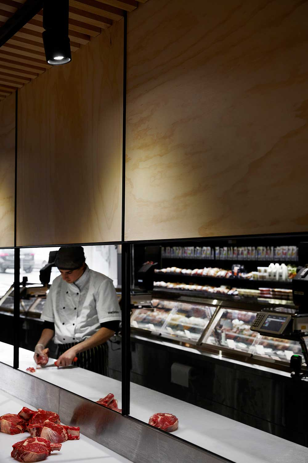 Cannings Butcher Shop designed by Fiona Lynch | Yellowtrace