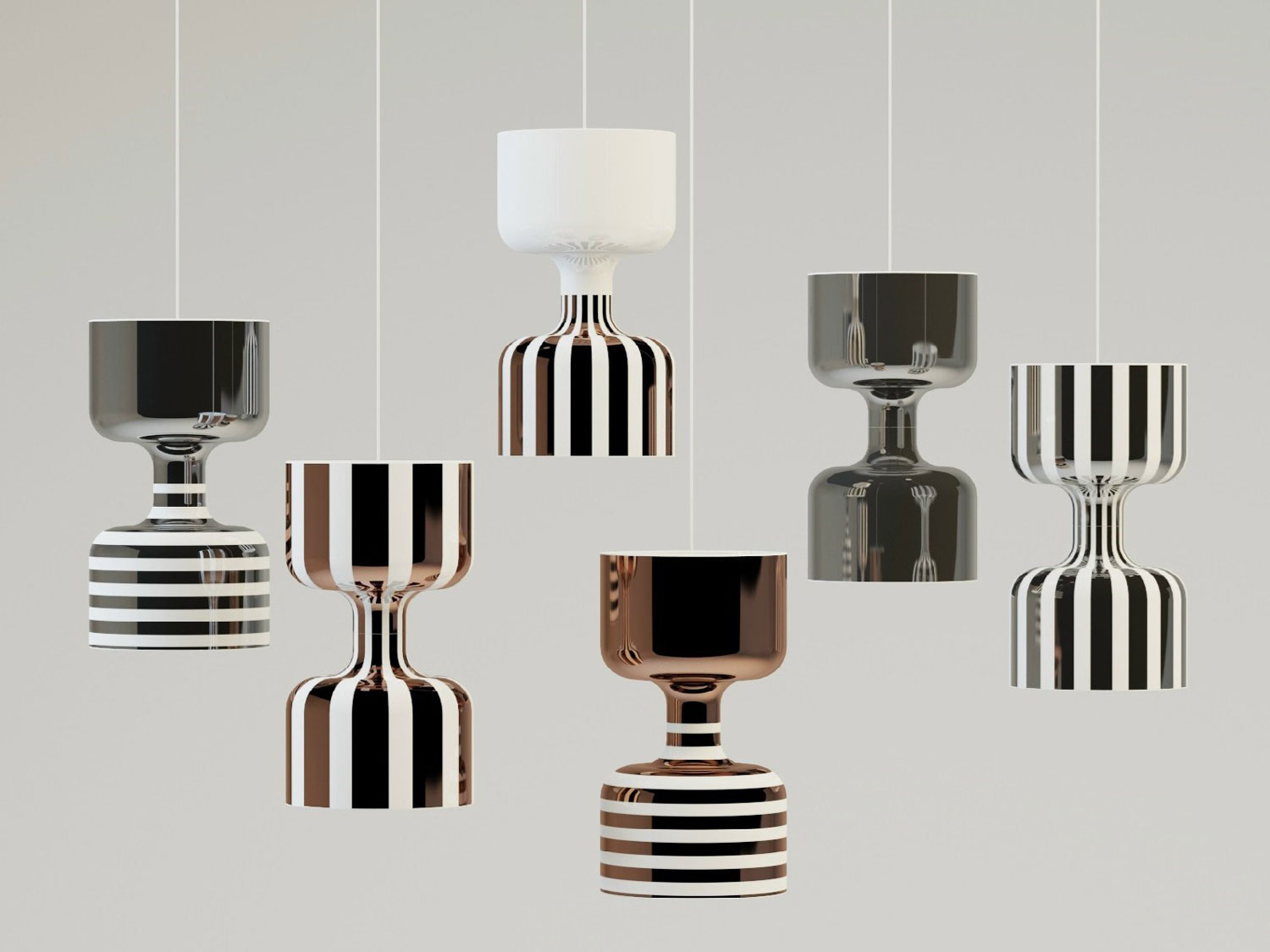 'Chapiteau,' New Lamps Collection by Ekaterina Elizarova for Bosa at 100 Design | Yellowtrace