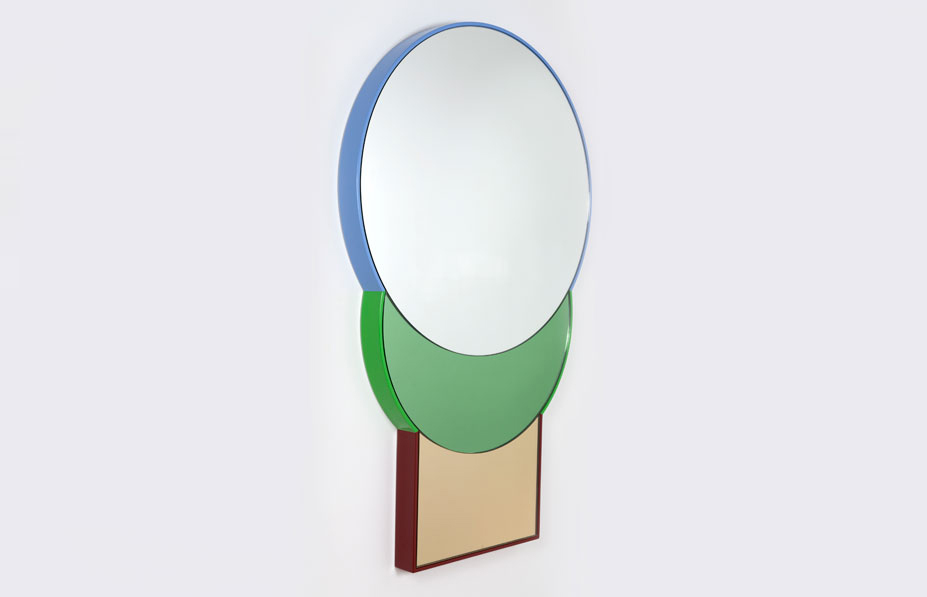 Galerie Kreo Launches London Gallery / Squarable Lune Mirror by Doshi Levien | Yellowtrace