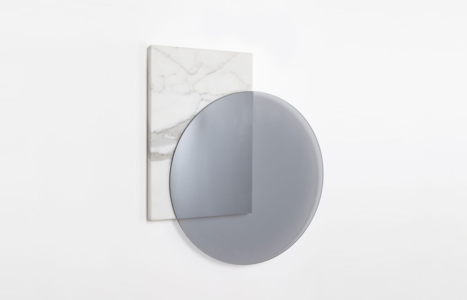 Galerie Kreo Launches London Gallery / Intersection Mirror by David Dubois | Yellowtrace