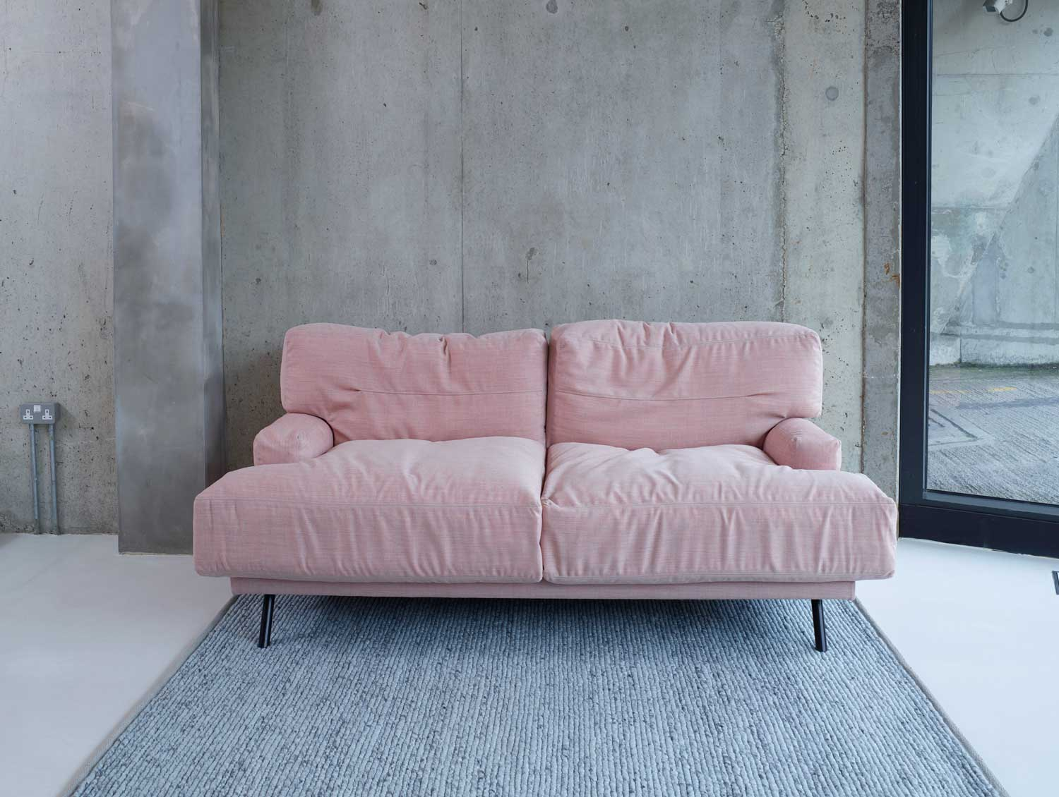 Elmer Two Seat Sofa by Lucy Kurrein for SCP | Yellowtrace