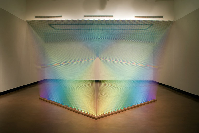 Gabriel Dawe Thread Installation | Yellowtrace