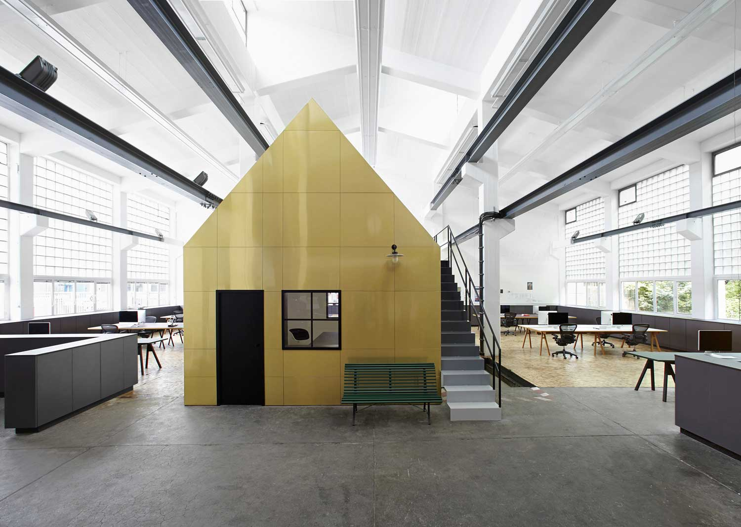Halle A by Designliga | Yellowtrace