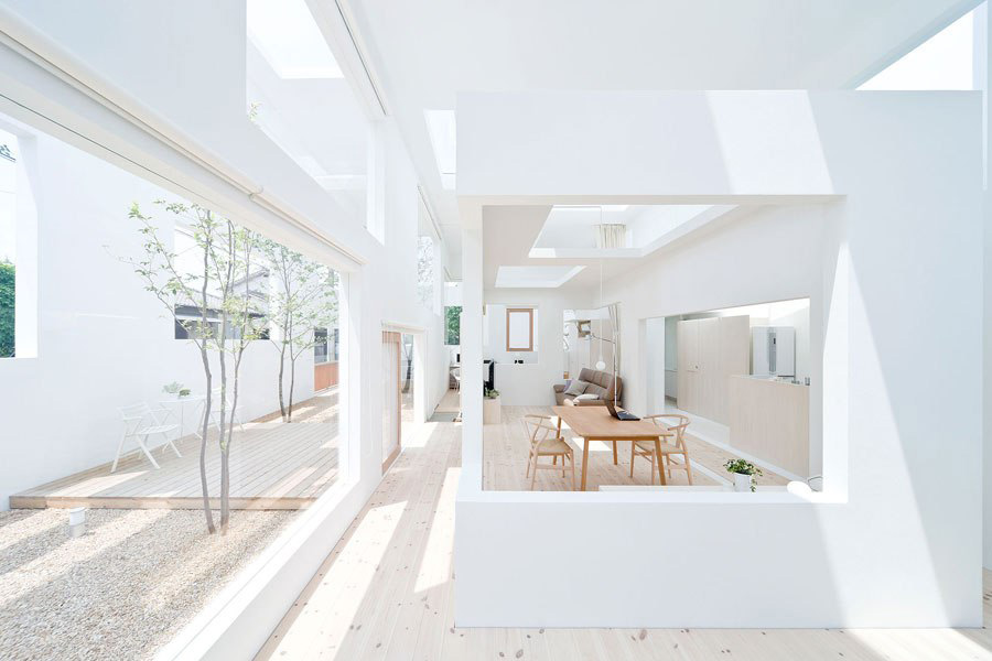 So hot right now a house in a house yellowtrace for O house sou fujimoto