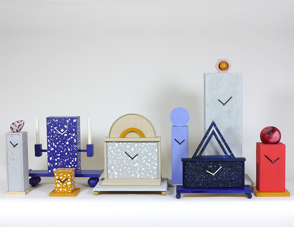 Omkompositioner Clocks by Jenny Nordberg | Yellowtrace