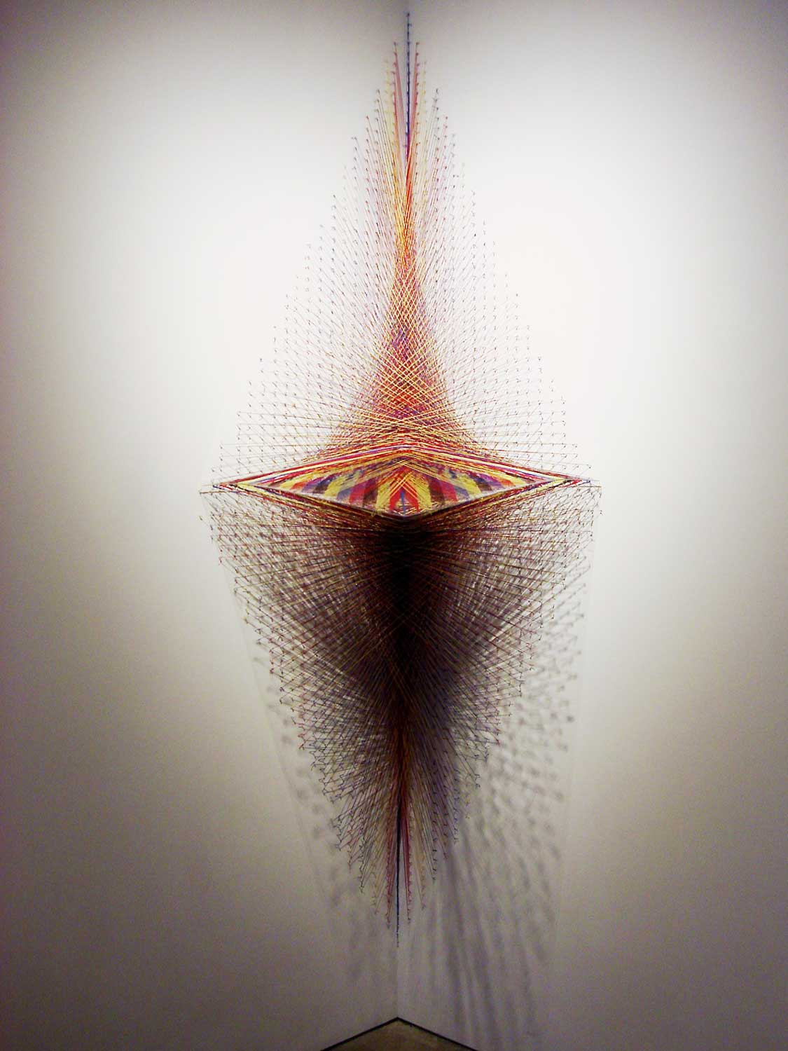 3D Thread Installation by Kendra Werst | Yellowtrace