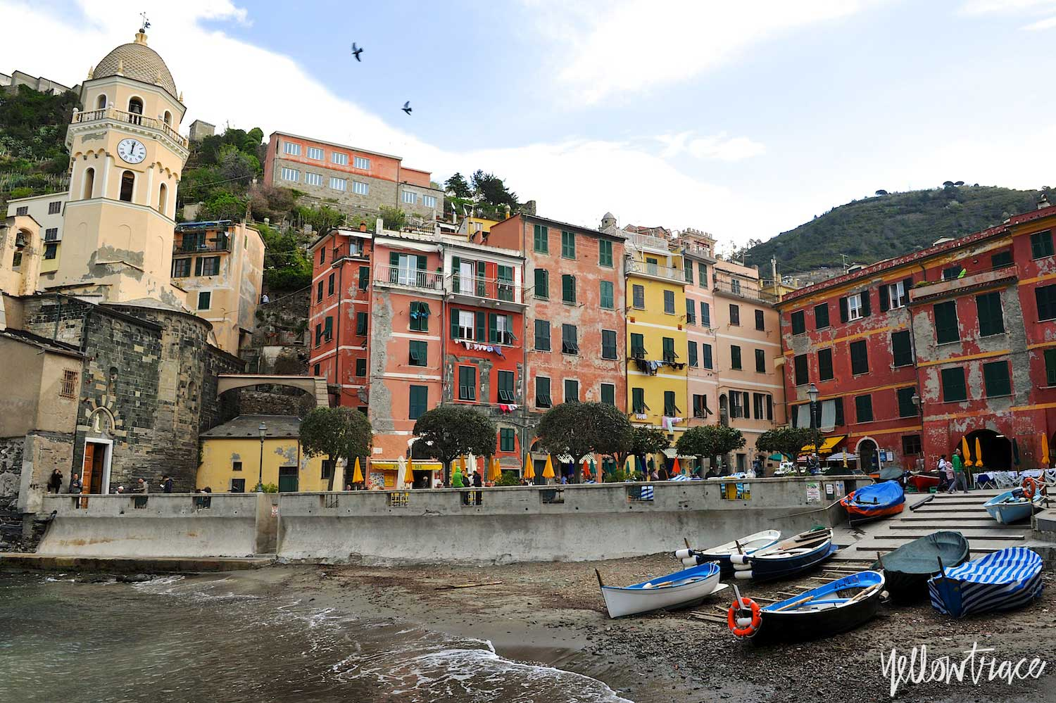 #YellowtraceTravels to Cinque Terre, Vernazza / Photo © Nick Hughes