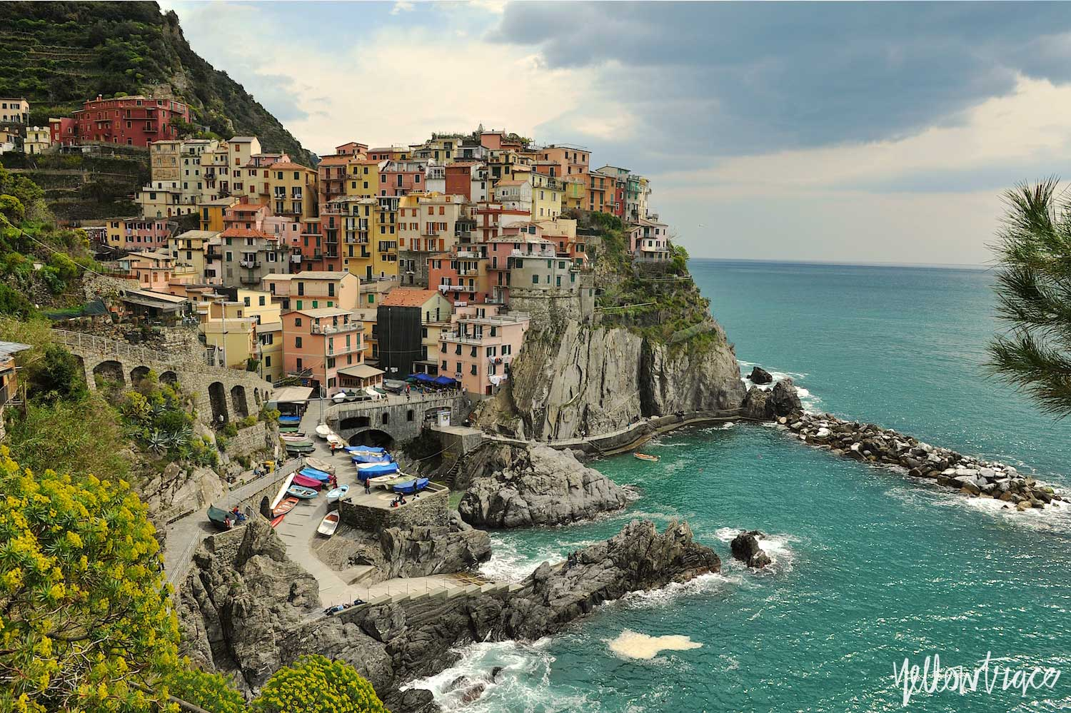 #YellowtraceTravels to Manarola, Cinque Terre Italy / Photo © Nick Hughes