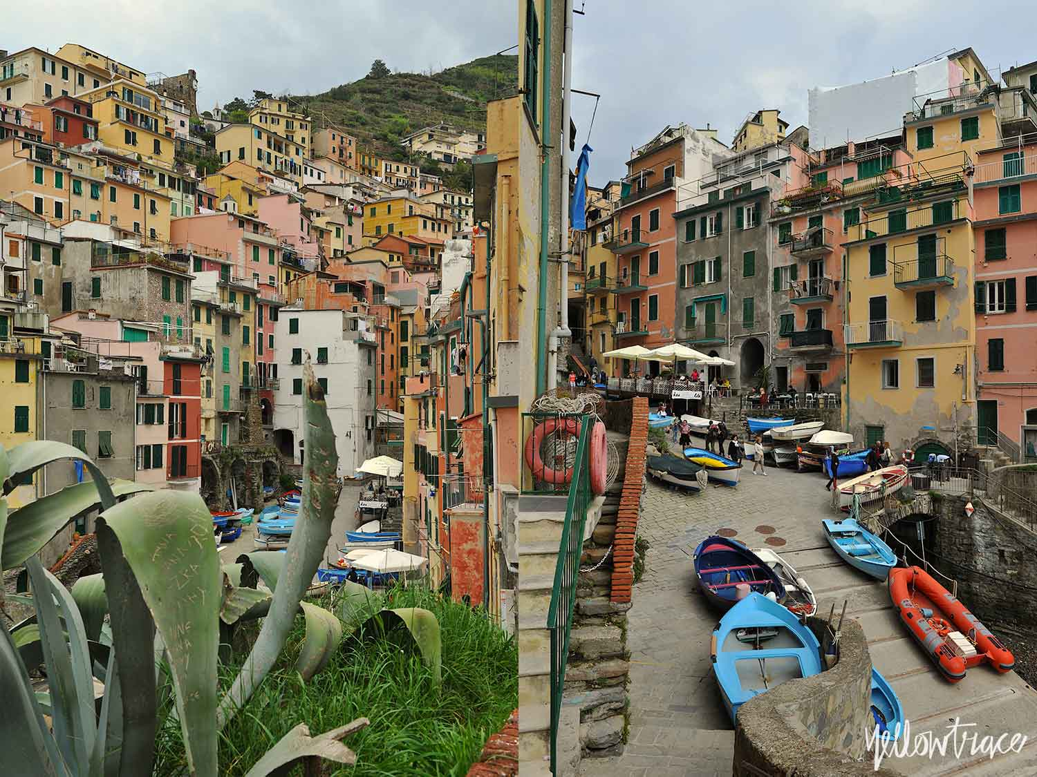 #YellowtraceTravels to Riomaggiore, Cinque Terre Italy / Photo © Nick Hughes