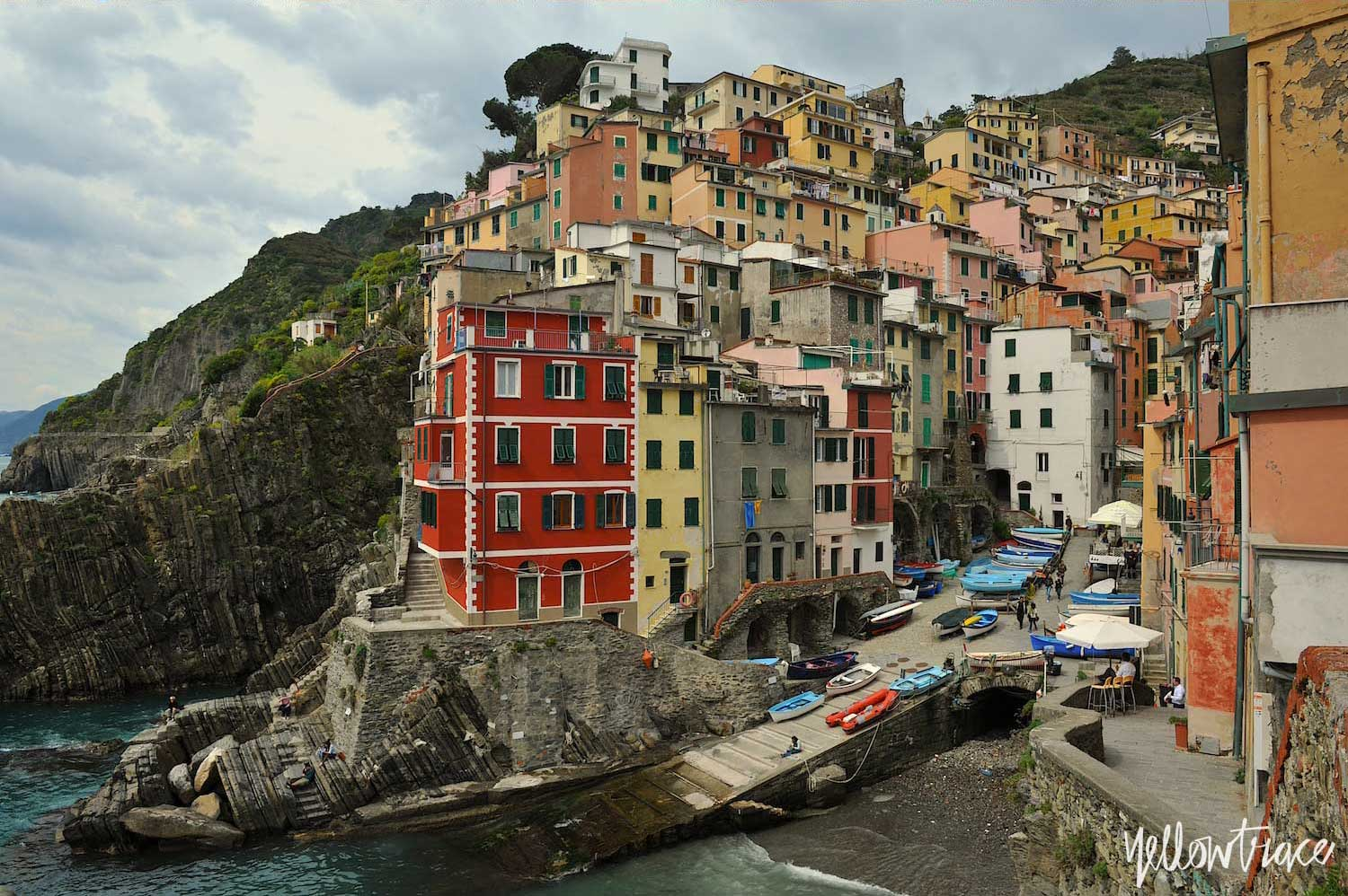 #YellowtraceTravels to Cinque Terre, Riomaggiore / Photo © Nick Hughes