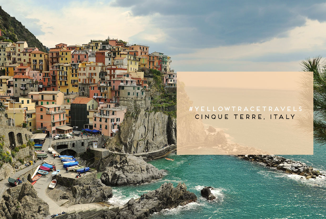 #YellowtraceTravels to Cinque Terre Italy / Photo © Nick Hughes.