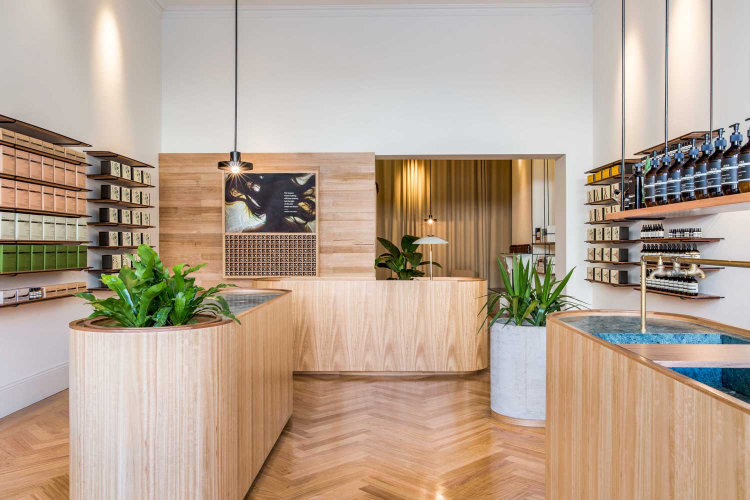 Aesop Rundle Street by Genesin Studio | Yellowtrace