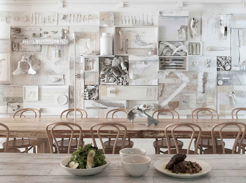 hueso restaurant in mexico by ignacio cadena yellowtrace. Black Bedroom Furniture Sets. Home Design Ideas