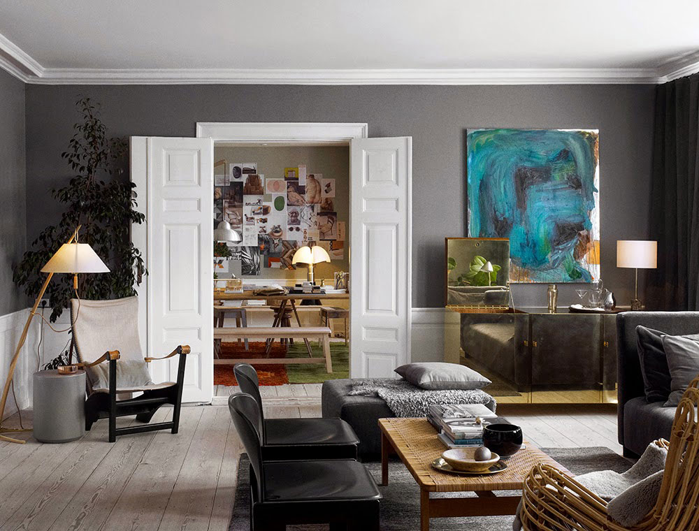 The Apartment, Residency by Ilse Crawford / Copenhagen, Denmark | Yellowtrace