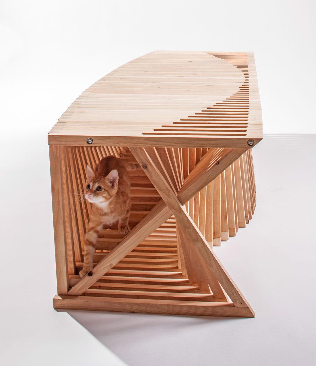 Product design architecture for pets yellowtrace - Casas para gatos baratas ...