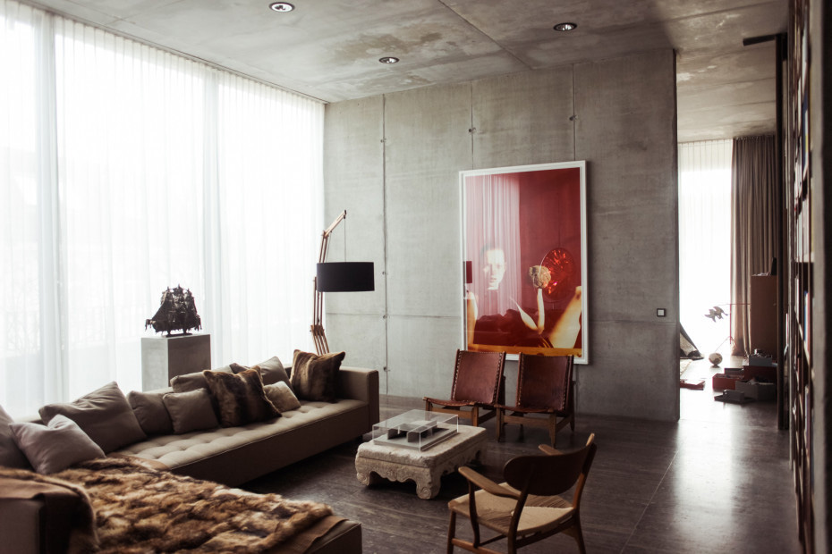 Berlin Bunker Transformed Into a Gallery & Home by Christian Boros | Yellowtrace