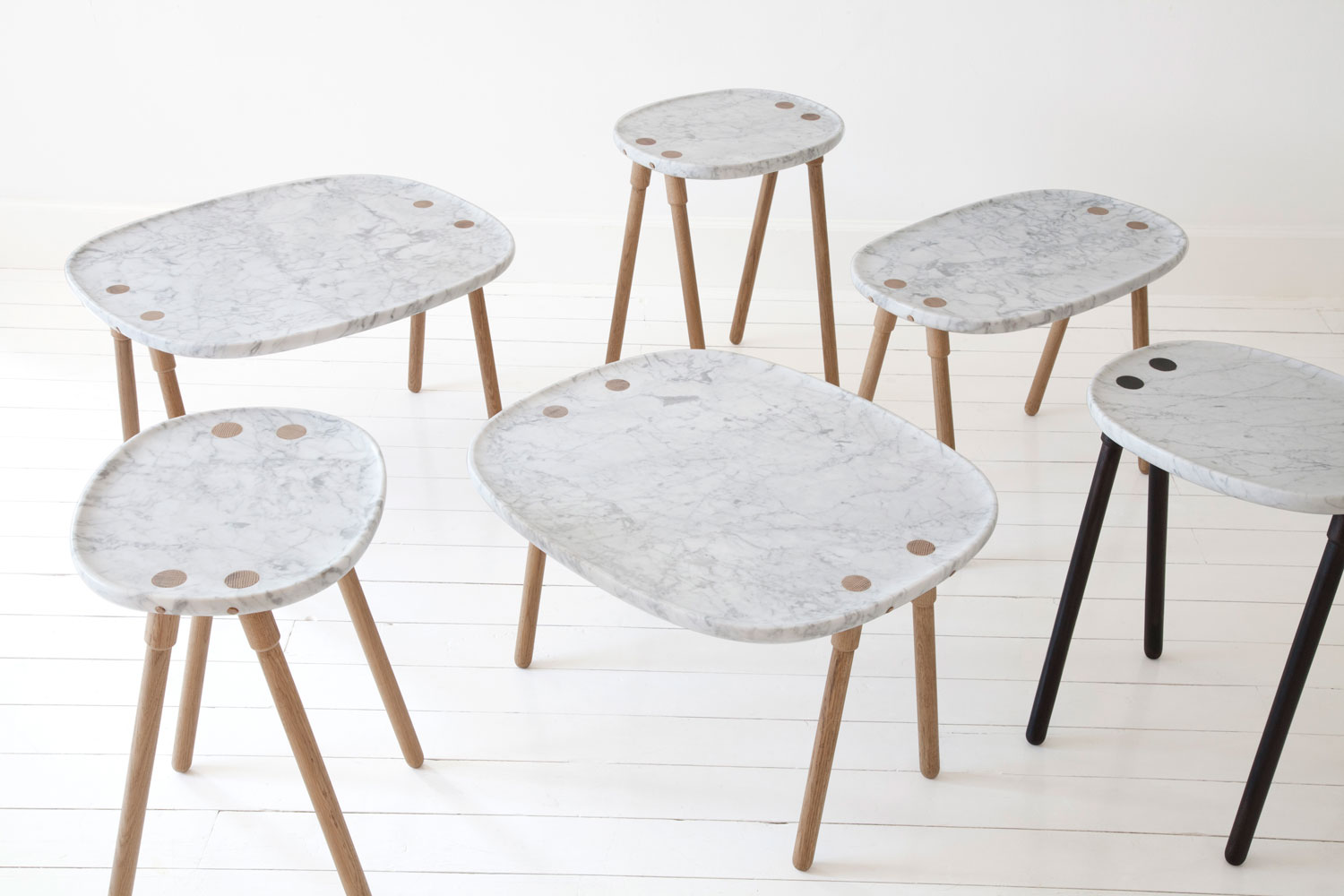 Cloud Tables by Frag Woodall | Yellowtrace