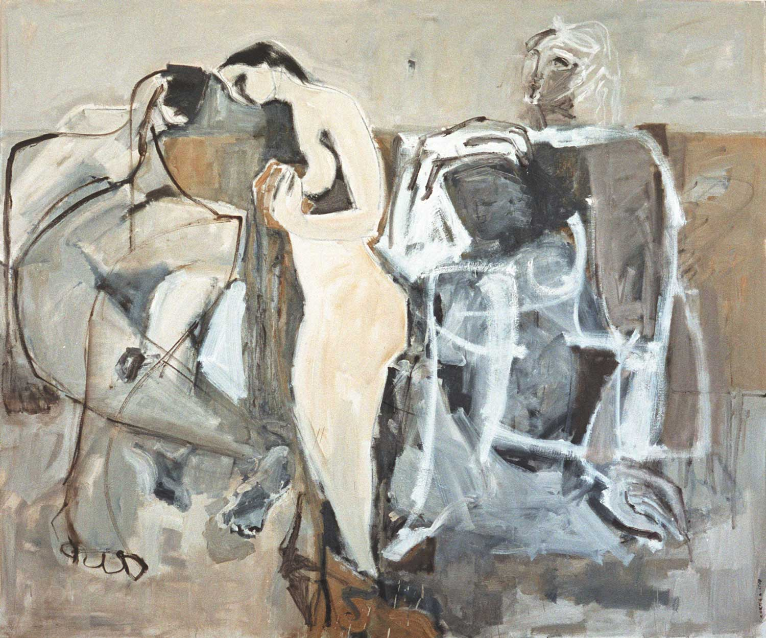 Five Bathers by Sylvia McEwan | Yellowtrace