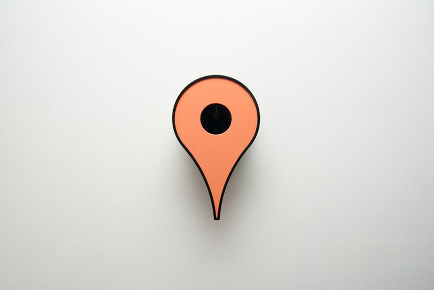 Google Map Pin Shaped Birdhouses | Yellowtrace