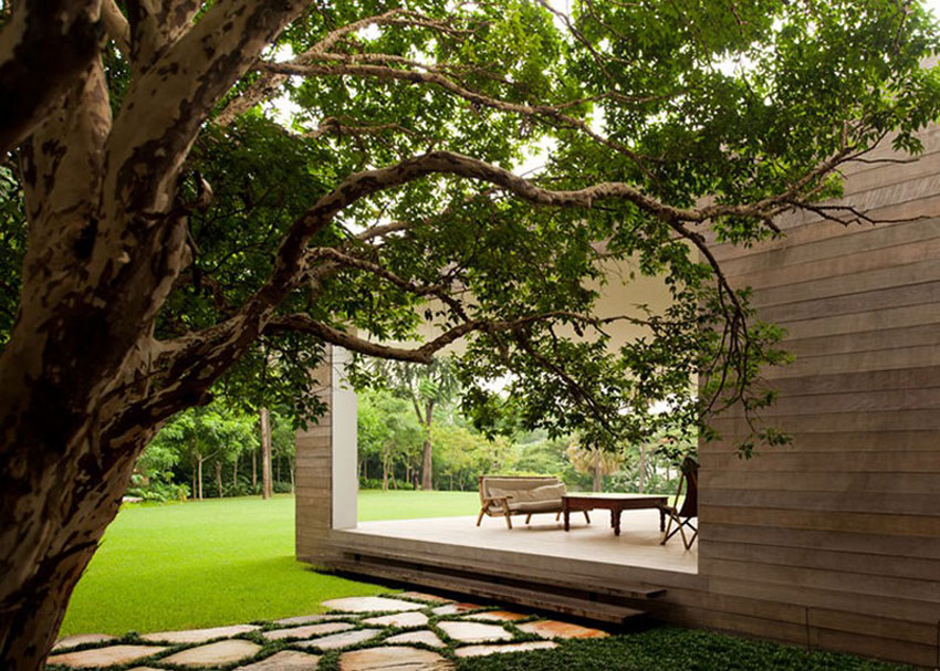 Grecia House by Isay Weinfeld | Yellowtrace