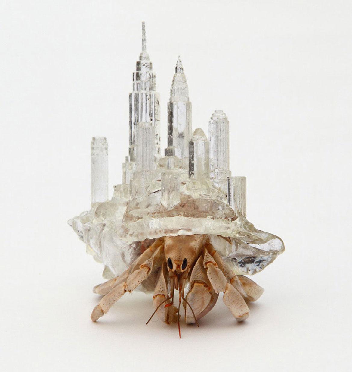 Hermit Crab Shells by Aki Inomata | Yellowtrace
