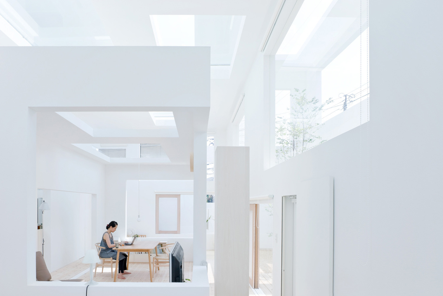 House N in Oita, Japan by Sou Fujimoto / Photo © Iwan Baan | Yellowtrace