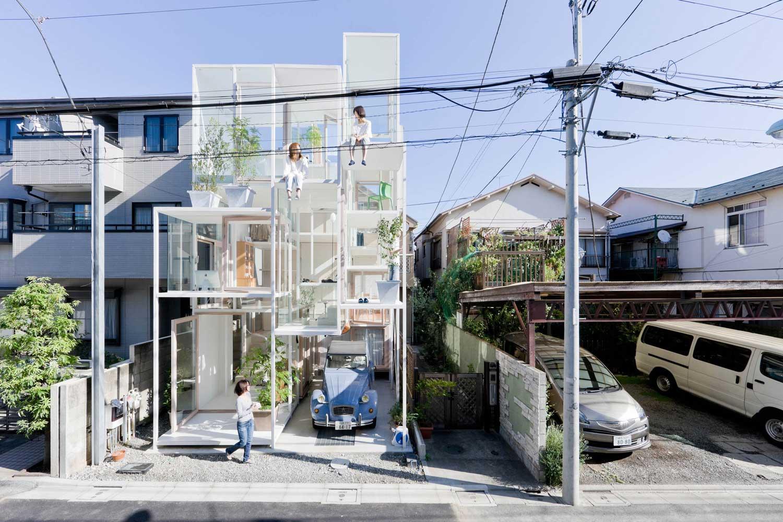 House NA in Tokyo, Japan by Sou Fujimoto / Photo © Iwan Baan | Yellowtrace
