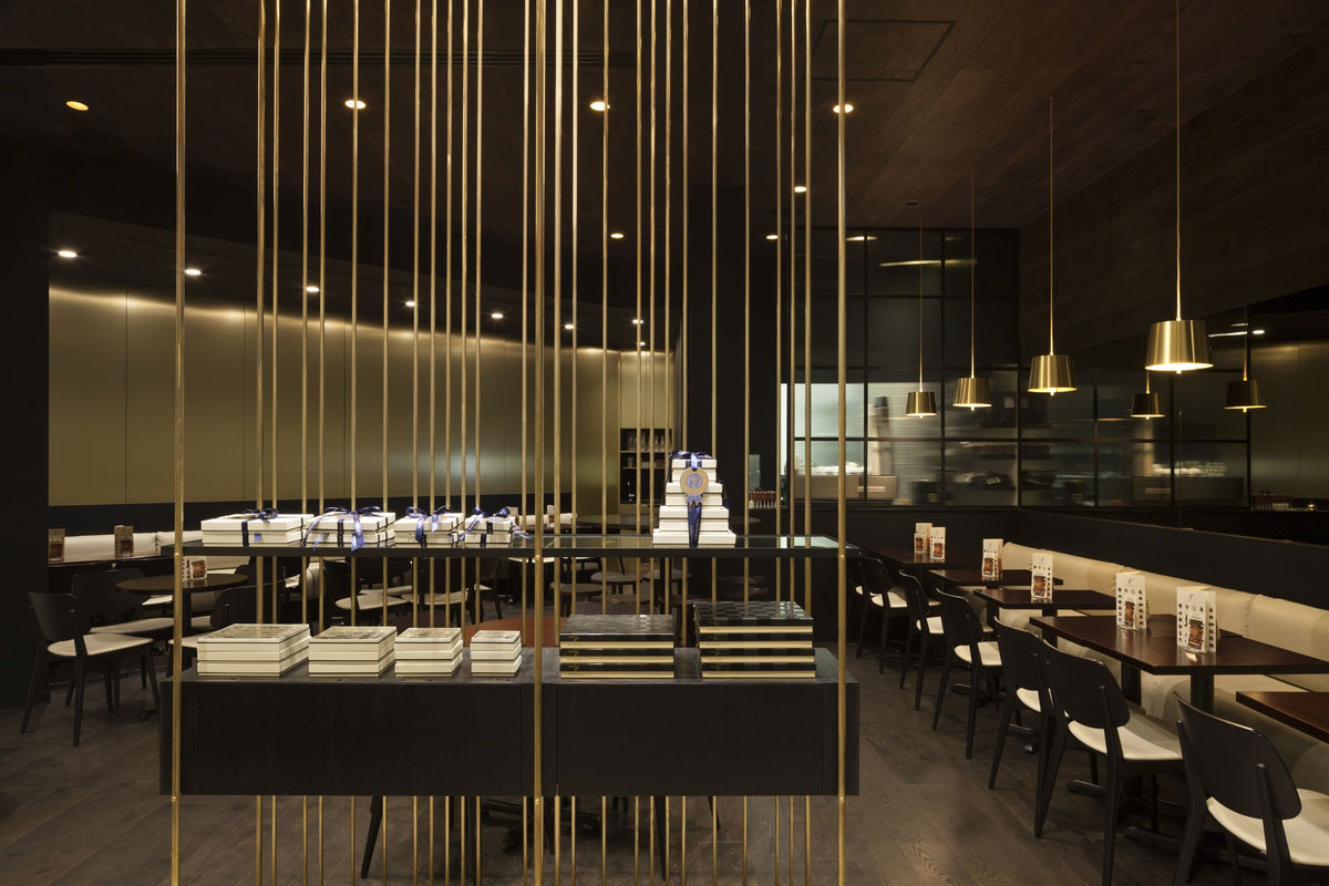 Koko Black Salon Chadstone by Bureau8 in Collaboration with Cibi / Photo by Dianna Snape | Yellowtrace