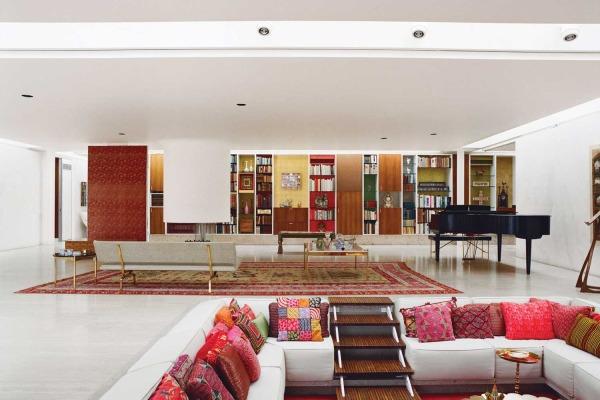 Miller House in Columbus, Indiana by Eero Saarinen   Yellowtrace