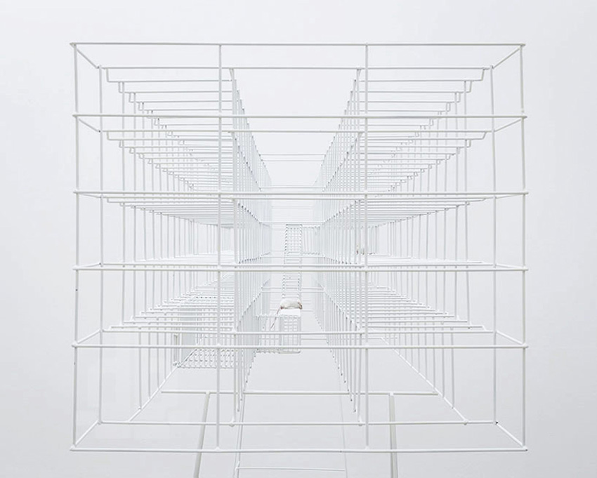 Sculptural Mouse Cage by Bureau A | Yellowtrace
